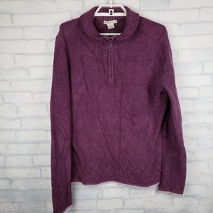 Exofficio pullover sweater Large                K2